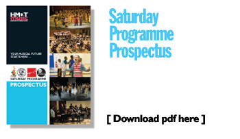 Saturday programme Prospectus