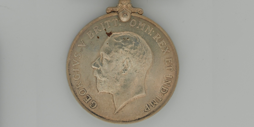 The British War Medal Side A