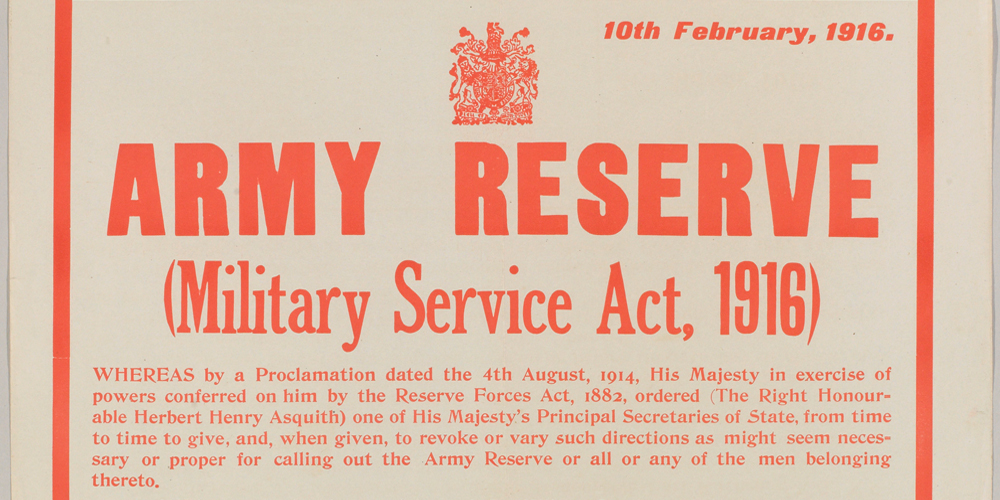 Reservists Recruitment Poster