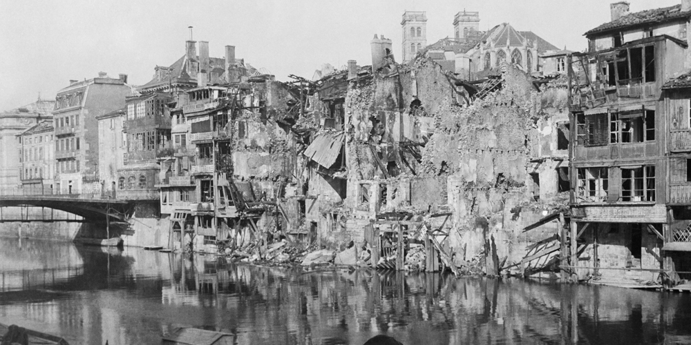 Damage at Verdun